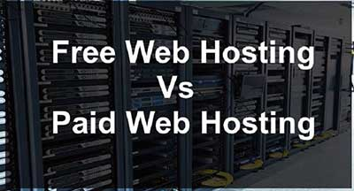 Difference between free and paid hosting