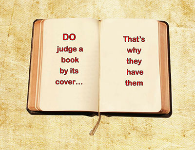 judge the book by its cover