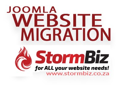 Joomla Website Migration