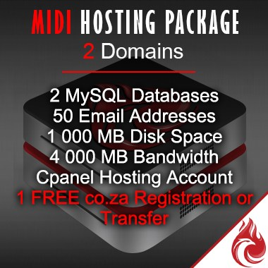 Medium business hosting package