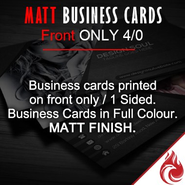 Matt Business Cards 4/0